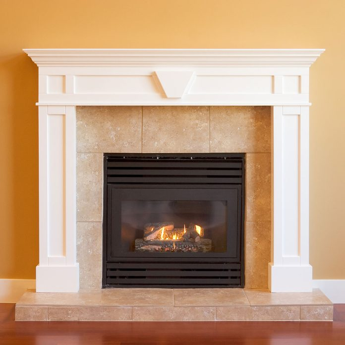 Gas Fireplace Gettyimages 183241663