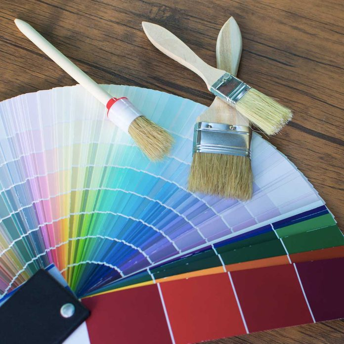 Paint Brushes And Color Samples Gettyimages 947902932