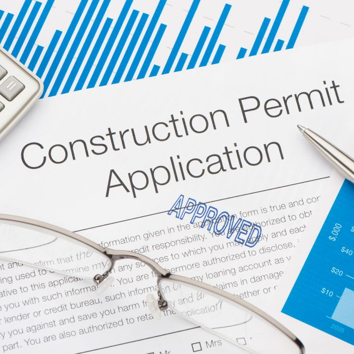 Approved Construction Permit Application
