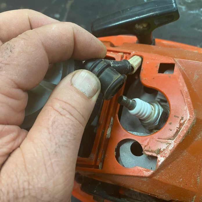 Removing Spark Plug Wire