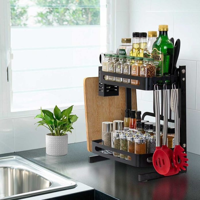 Spice Rack Sottile+2+tier+shelving+rack