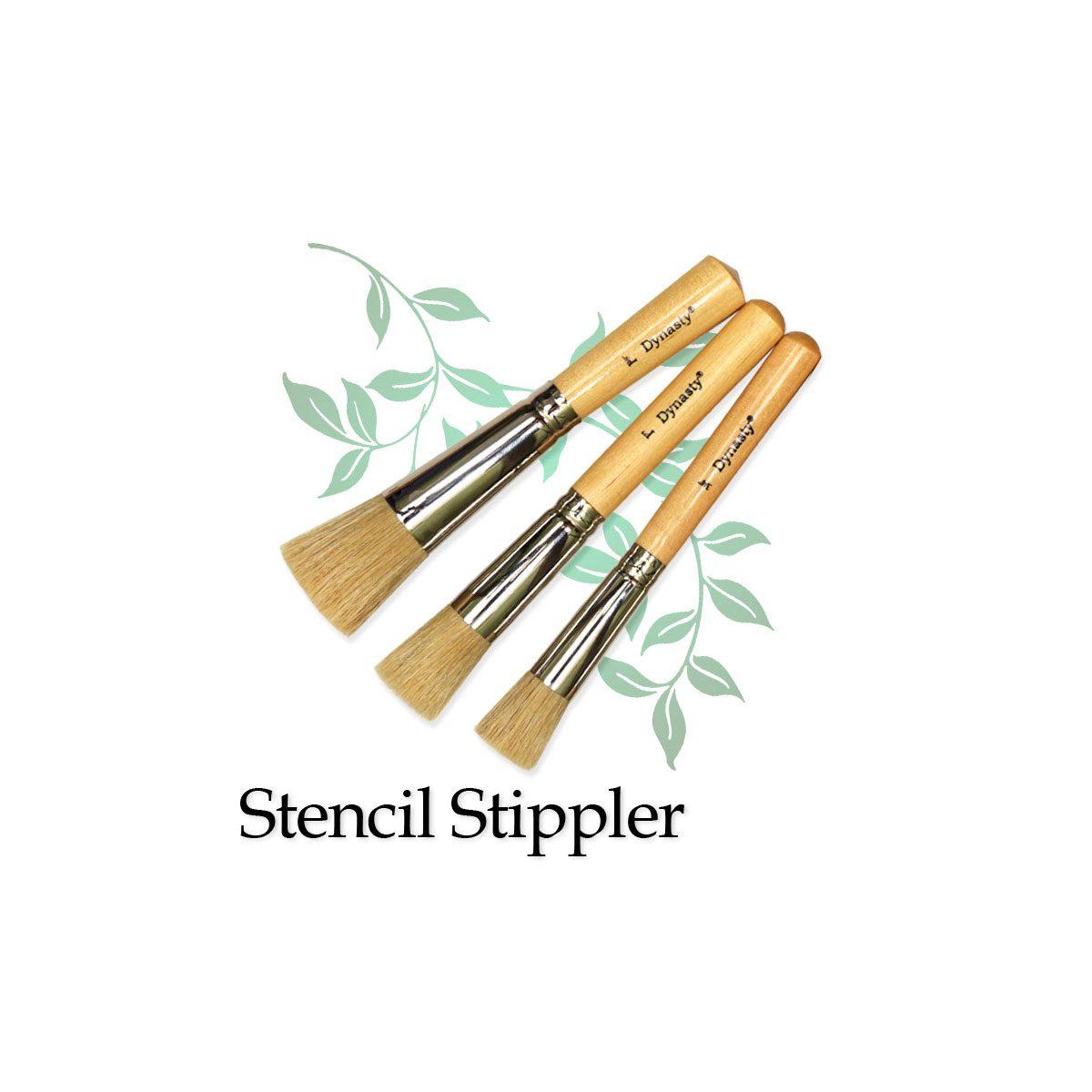 Stippler Paint Brush Stencilstippler