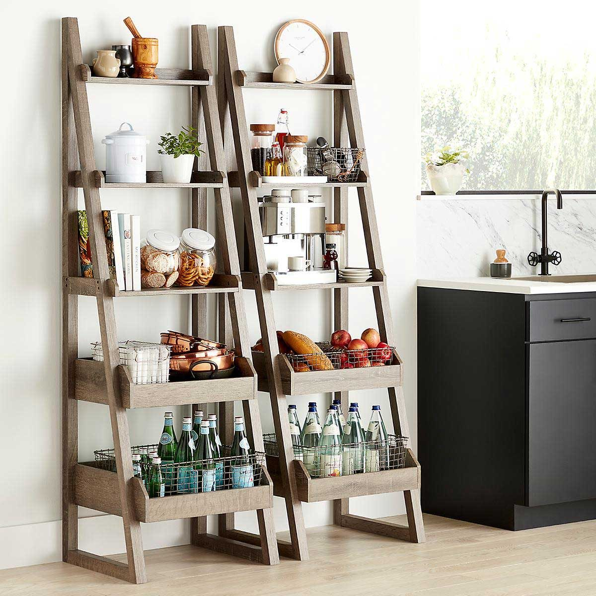Storage Shelves Sh 18 Solid Wood Folding Tower V2 Rg
