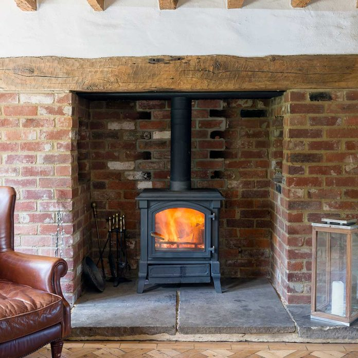 Wood Burning Stove Gettyimages 1146332555