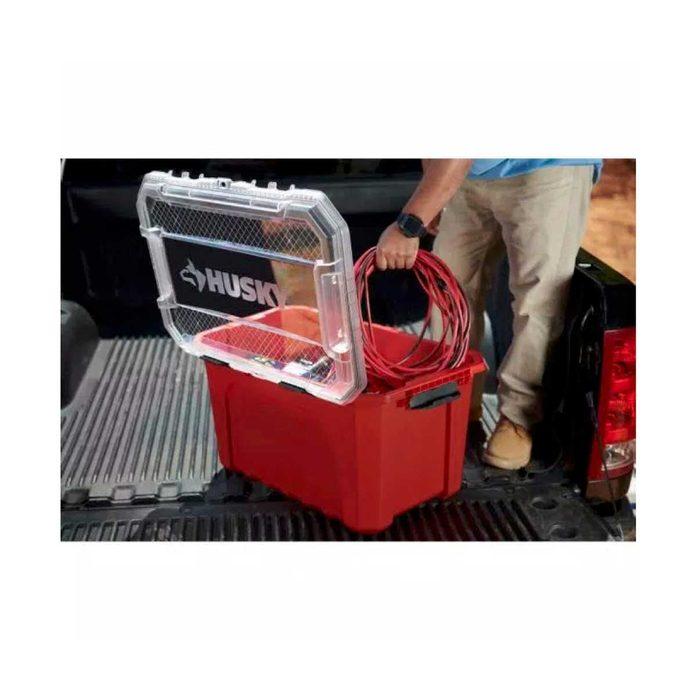 Red Husky Storage Bins