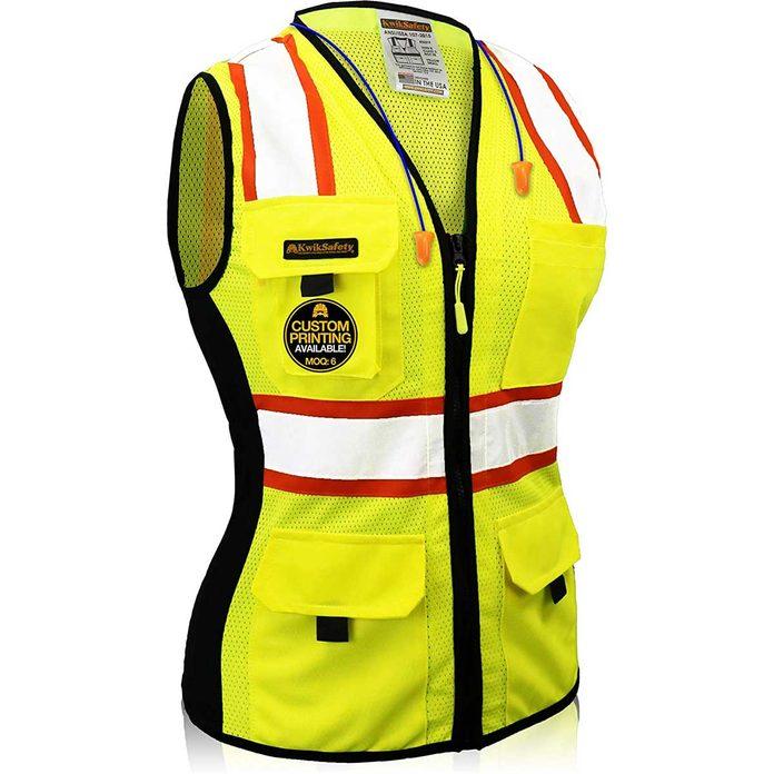 Safety Vest 815y37l3yel. Ac Sl1500