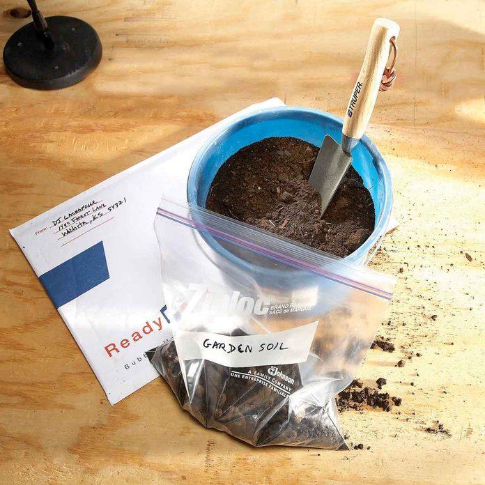 Test the soil