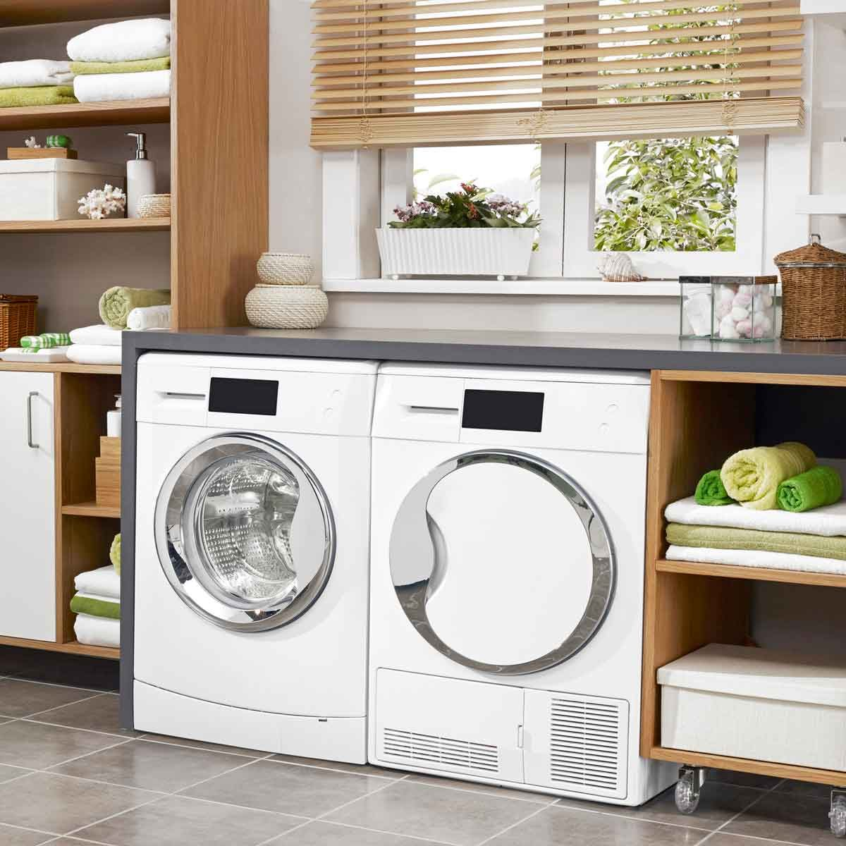 Washer Dryer Set Gettyimages 869825978