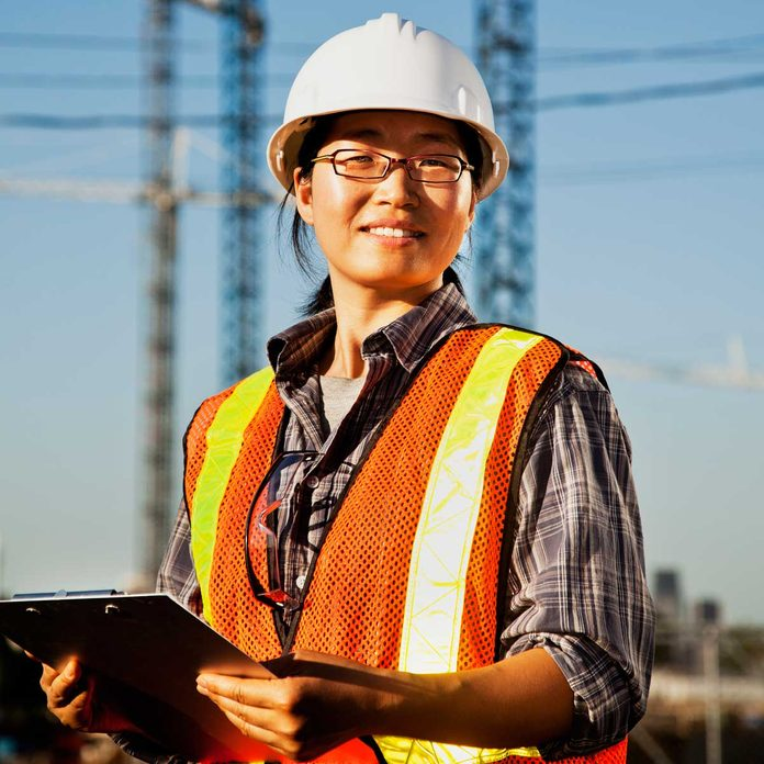 Woman Construction Worker Gettyimages 463207617