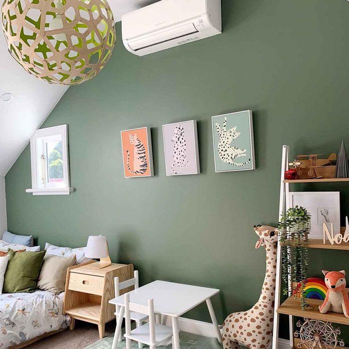 attic bedroom child room