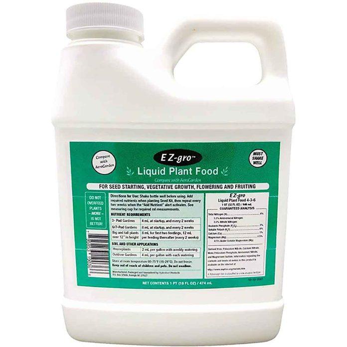 liquid plant food fertilizer