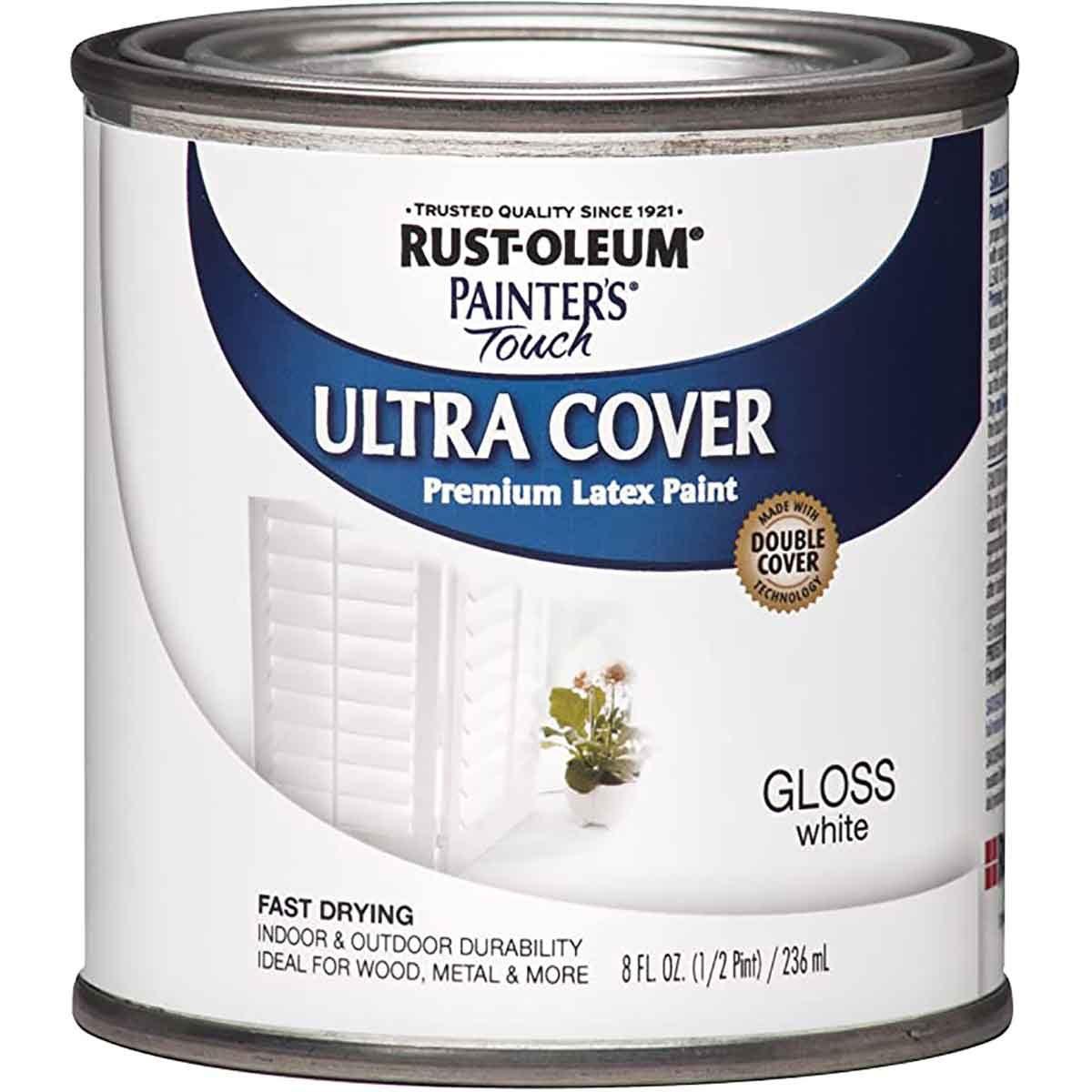 latex paint white