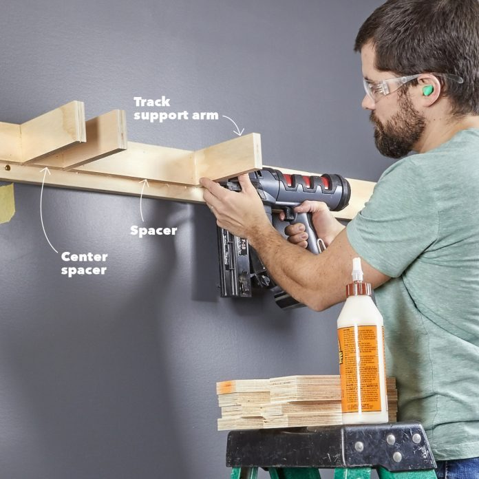 Build support arms