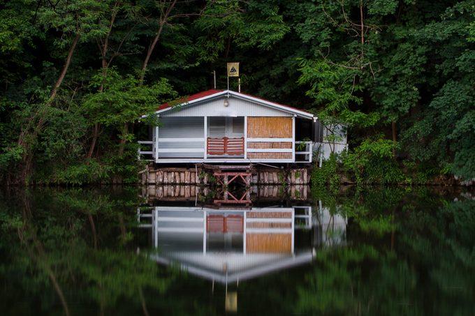 Cabin On Lake