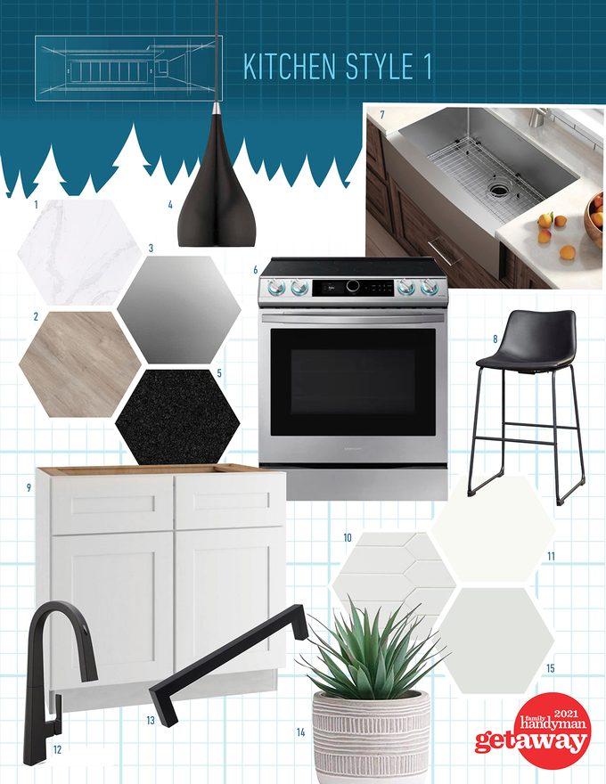 Kitchen Style moodboard