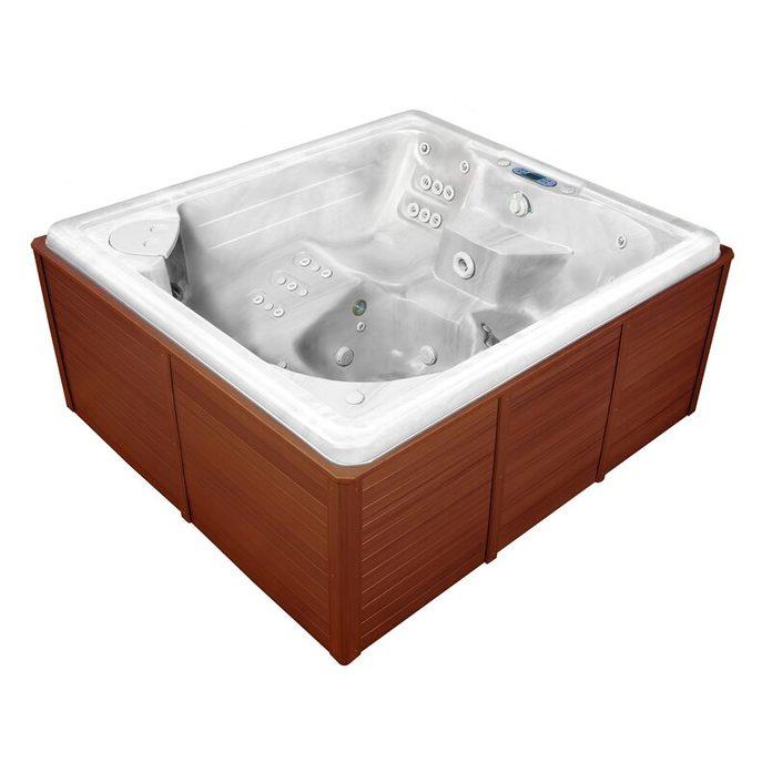Thermospas+5 Person+57 Jet+acrylic+rectangular+hot+tub+with+ozonator