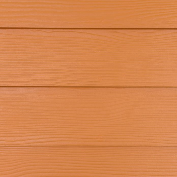 Fiber Cement Siding with a wood pattern