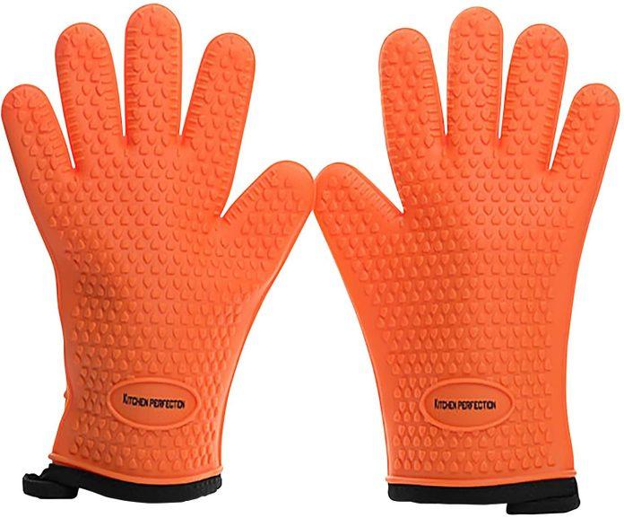 Grill Gloves Orange