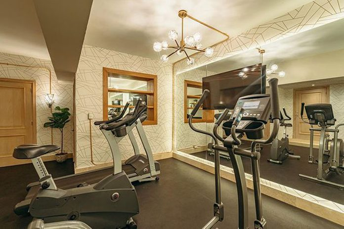 Luxurious Home Gym