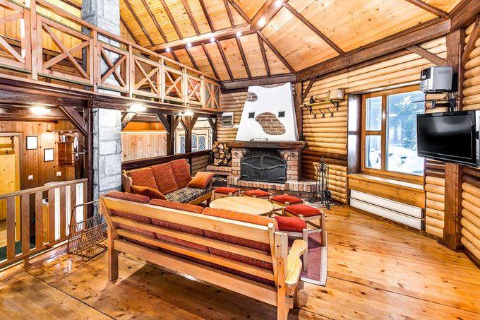 Winter Ski Cabin