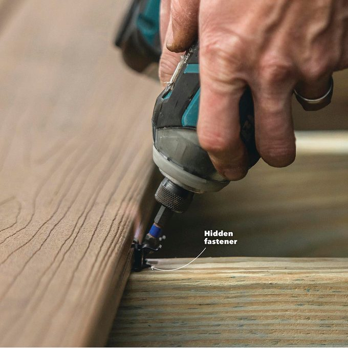 Hidden Fasteners for a Clean Surface