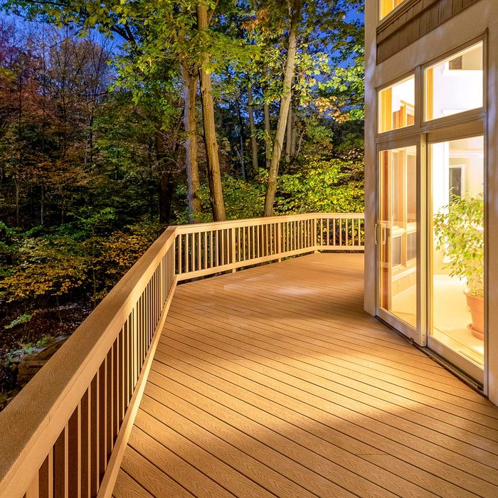 Renewed deck