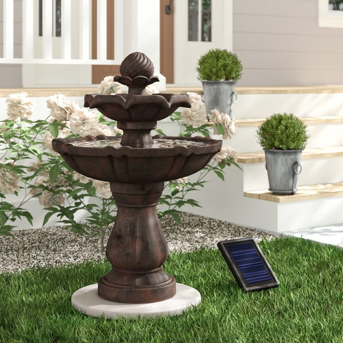Malpelo+resin+solar+fountain