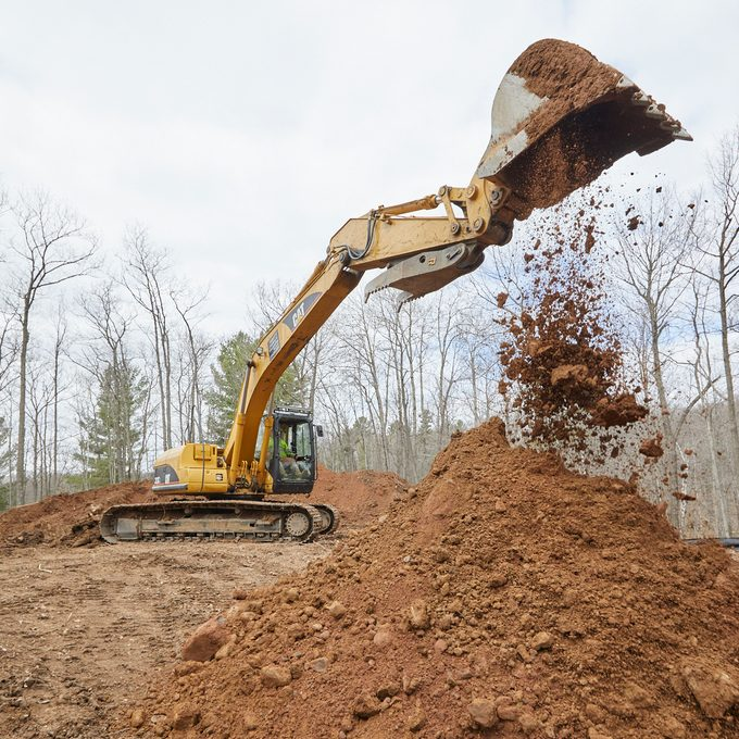 Clearing The Site