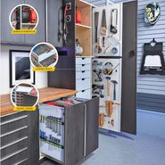 How to Customize Garage Cabinets for More Storage