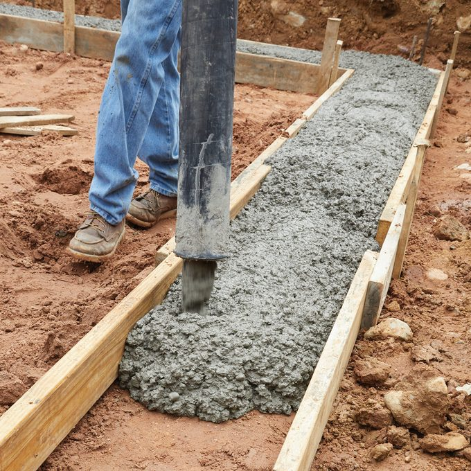 Pour the Footings