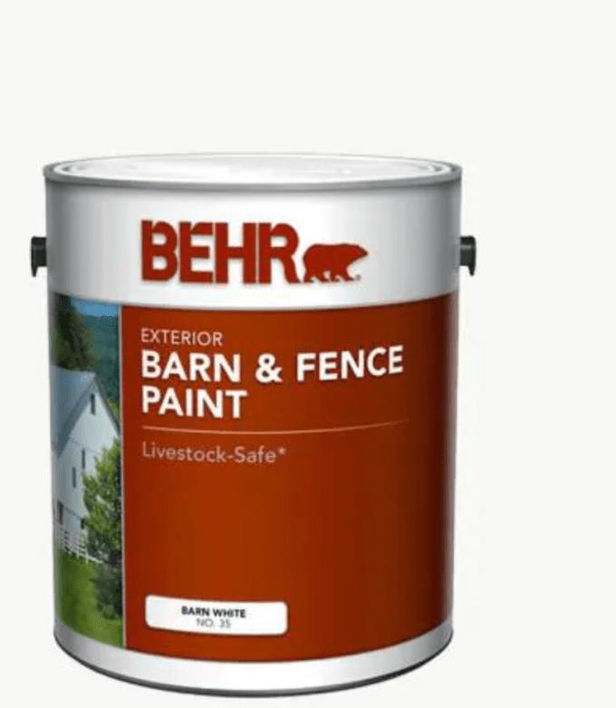 Behr Barn & Fence Paint
