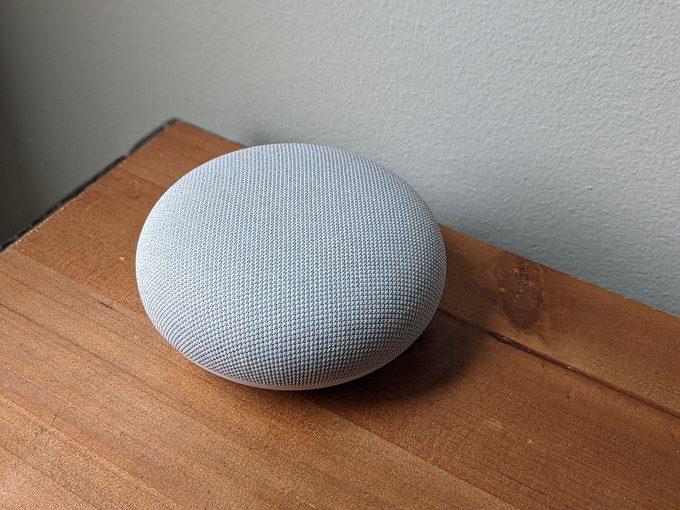 Google Home Mini speaker