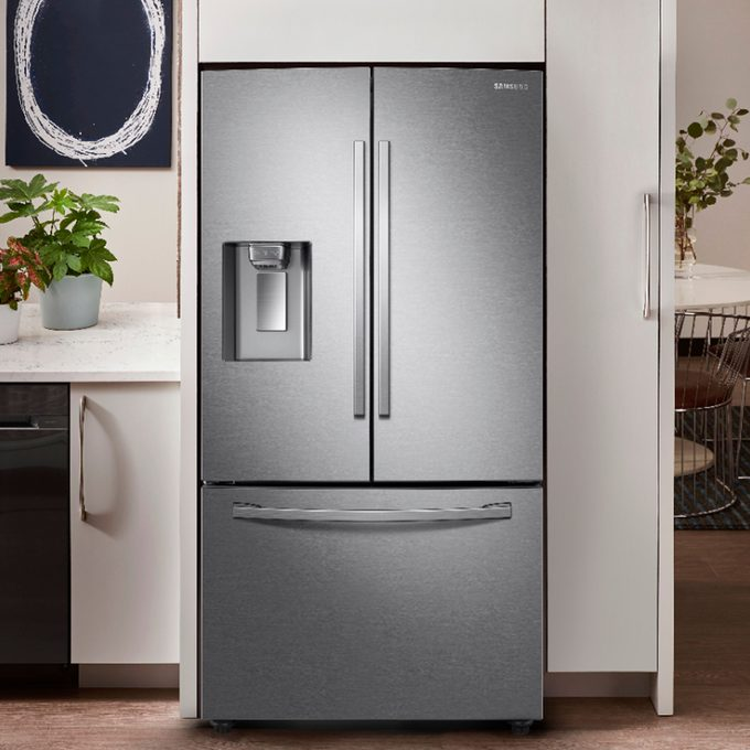 Samsung Stainless Steel French Door Refrigerator Via Bestbuy2