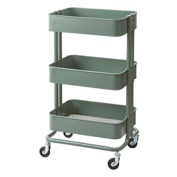 Raskog Utility Cart Gray Green