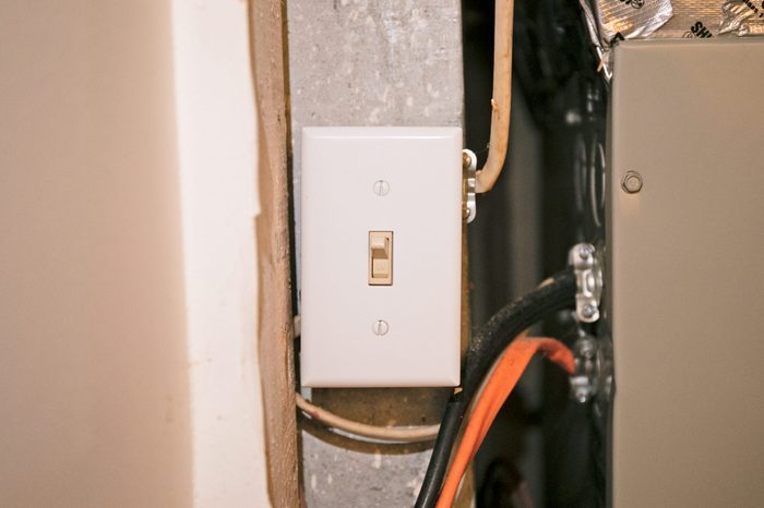 furnace on and off switch