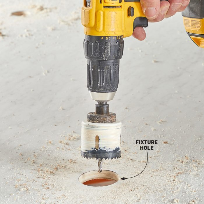 Marking and drilling fixture holes