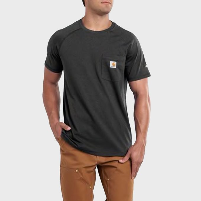 Force Relaxed Fit Midweight Short Sleeve Pocket T Shirt